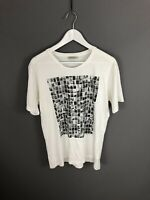 CALVIN KLEIN T-Shirt - Size Large - White - Great Condition - Men's