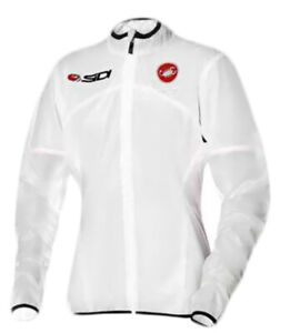 Castelli Sottile Due Sidi Womens Cycling Jacket - White