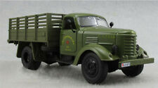 1:32 Diecast Military Truck Army Green Jiefang Truck Model W/ Light Sound Back