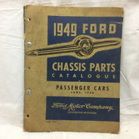 Vintage 1949 Ford Chassis Parts Catalogue Illustrations