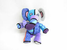 BRITTO POP PLUSH FOR ENESCO JASPER ELEPHANT STUFFED ANIMAL 9""