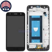 # For LG X Charge SP320 X500 M322 L63BL LCD Display Touch Screen Digitizer+Frame