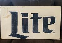 Miller Lite Beer Sign 32 X 18 Better Brands Distributing Beer Sign Miller Lite