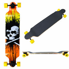 "Pro Longboard Complete 41x9 1/2"" Cruiser Skateboard Downhill Canadian Maple Deck"