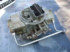Holley 650 CFM Double Pumper Carburetor list 4777 camaro nova chevelle gto 442