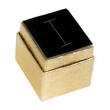 30- GOLD RING BOX JEWELRY GIFT BOX SHOWCASE DISPLAY HAT RING BOX GOLD GIFT BOXES