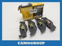 Pills Front Brake Pads Pad Wolf VOLKSWAGEN Golf Polo