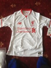 LIVERPOOL AWAY shirt SB APPROX 7 TO 9 SEASON 15/16 S/S SHIRT NEW RRP 41.99 MAMS