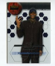 2002-03 Topps Finest #180 Carmelo Anthony  Rookie Card