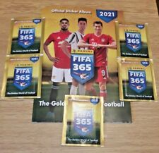 FIFA 365 2021 Panini empty album + 5 packs, Serbian (ex-Yugoslavia) edition