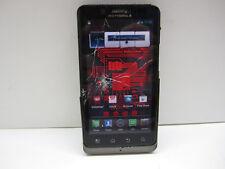 Motorola Droid Bionic XT875 (Verizon) -CRACKED -No Vol Button -ESN APPEARS CLEAR