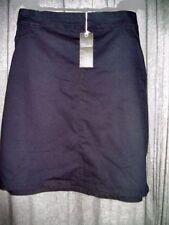 Denim Knee-Length Plus Size Skirts for Women