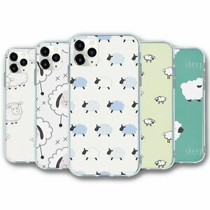 For iPhone 11 PRO MAX Silicone Case Cover Sheep Collection 1