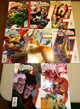 AVENGERS EARTH'S MIGHTIEST HEROES 1 2 3 4 5 6 7 8 MARVEL COMICS SET CASEY KOLINS