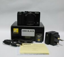 Nikon COOLPIX A900 20.0MP Digital Camera - Black UK STOCK  (mint condition)