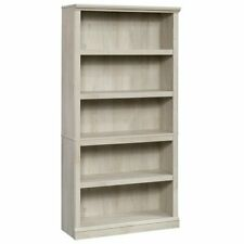 Sauder 5 Shelf Bookcase in Chalked Chestnut