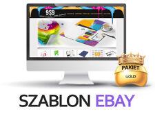 Szablony aukcji Ebay Szablon Responsywny + BASELINKER + LOGO +grafika SKLEP+PSD