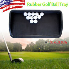 Country Club Elite Golf Ball Tray Rubber for 100 Golf Balls Us Christmas Gift