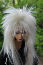 Dollfie bjd SD Wig peluca Star size 7-8 whiteblonde