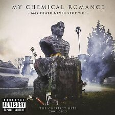 MY CHEMICAL ROMANCE: MAY DEATH NEVER STOP YOU CD GREATEST HITS / THE BEST OF NEW