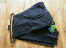 "HUGO BOSS TROUSERS CARGO STYLE STRETCH PANTS STRAIGHT LEG BLACK UK 34""w 33""L"