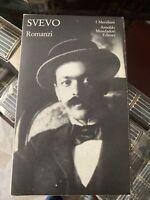 SVEVO: ROMANZI (Meridiani Mondadori) 1985 Prima Edizione ! Come Nuovo !