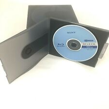 Sony BD-R DL Blu Ray 50gb Recordable Ver.1.1/2x Set of 10 New Sony Jewel Cases