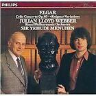 """Sir Edward Elgar - Elgar: Cello Concerto Op. 85; """"Enigma"""" Variations (CD 1986)"""