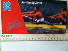 ROWING FIGURINES Olympics 2012 souvenir 3 memorabilia Corgi diecast