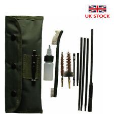 Airsoft .22cal 5.56mm Rifle Gun Cleaning Kit Gun Brushes Set Pouch Bag UK STOCK