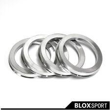 4pcs Silver Wheel Hub Ring CB56.1 to 73.1 for Subaru Legacy Levorg Forester Baja