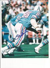 Houston Oilers Elvin Bethea  Autographed 8x10 with COA NICE