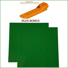 LEGO Separator PLUS BONUS: 2 Green 10x10-inch 32x32-stud compatible base plates
