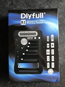 Dlyfull Universal Battery Tester with LCD Display, Multi Purpose Battery Checker