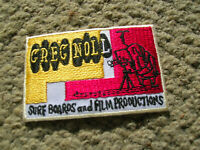 vintage Greg Noll jacket patch business card surfing surfboard surf family 1960s