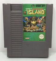 Nintendo NES Adventure Island Video Game Cartridge *Authentic/Cleaned/Tested*
