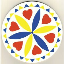 """16"""" Love Hex Sign Crafted by Conestoga Made in the USA"""