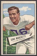 1952 BOWMAN LARGE #23 GINO MARCHETTI PACK FRESH HOF ROOKIE CARD WICHITA FIND