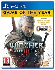 THE WITCHER 3 WILD HUNT - GOTY EDITION PS4 ITALIANO PLAY STATION 4 GIOCO PAL ITA
