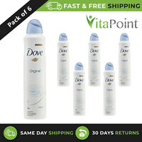 Dove Original Aerosol Anti-Perspirant Deodorant, 250ml x 6