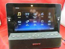 SONY Dream Machine ICF-CL75iP LCD Screen FM-AM Clock Radio w/ 30-pin iPod Dock