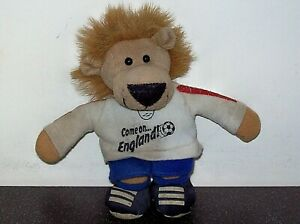 """Rare ORIGINAL - 1966 ENGLAND World Cup - WORLD CUP WILLIE Soft Toy - 6"""" tall"""