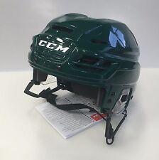 New CCM Resistance 100 NHL/AHL Pro Stock/Return small S ice hockey helmet green