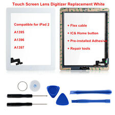 For iPad2 A1395 A1396 A1397 Touch Screen Lens with IC chip  Digitizer Replacemet