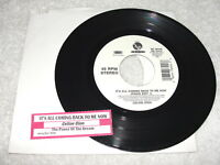 """Celine Dion """"It's All Coming Back To Me Now"""" 45 RPM, 7"""", 1996 Pop, VG+, +Jukebox"""