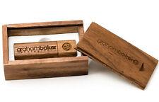 walnut wood customize company logo usb 2.0 usb 3.0 memory stick flash pen drive