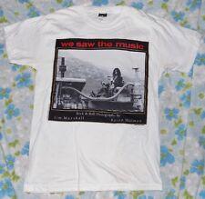 VTG 1993 Baron Wolman Jim Marshall Frank Zappa We Saw The Music Men's T-shirt S