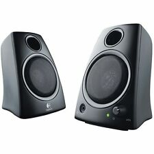 Logitech Z130 2 Piece Compact Multimedia Speaker w 3.5mm Headphone Jack 5W