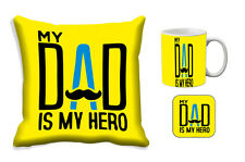 Father's Day Gift-meSleep Dad Hero Cushion Cover, Mug and Coaster Combo