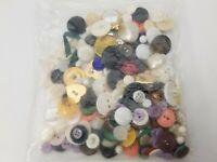 Vintage Huge Button Lot - Mostly Hole Style - Plastic - Jacket Dress Clothes